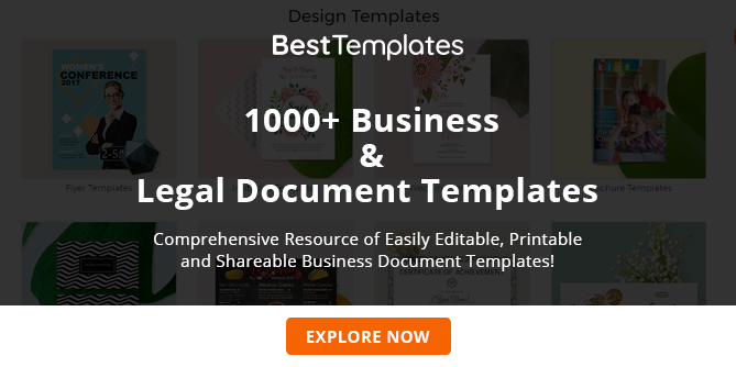 Free Business Documents Templates And Forms For Small Businesses - Legal documents for business