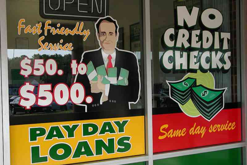 Desperate for Financing? Stay Away from Payday Loans!