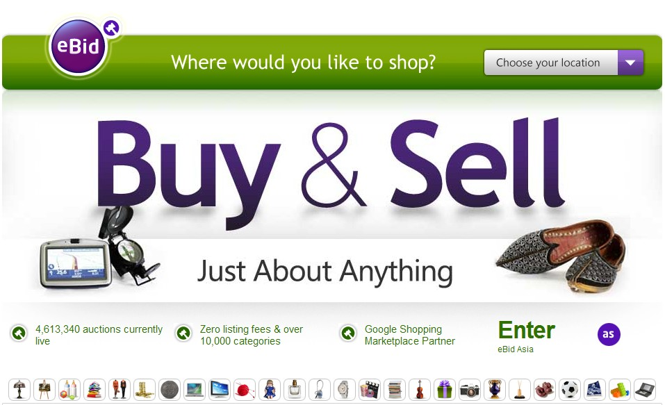 17 Alternatives To Ebay In 2013 For Online Sellers And Small