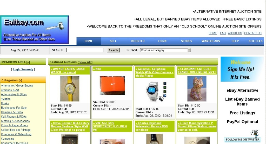 17 Alternatives To Ebay In 2013 For Online Sellers And Small Businesses Frugal Entrepreneur