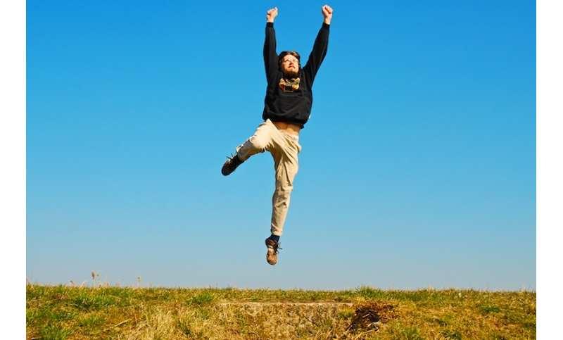 business-success-jumping-man
