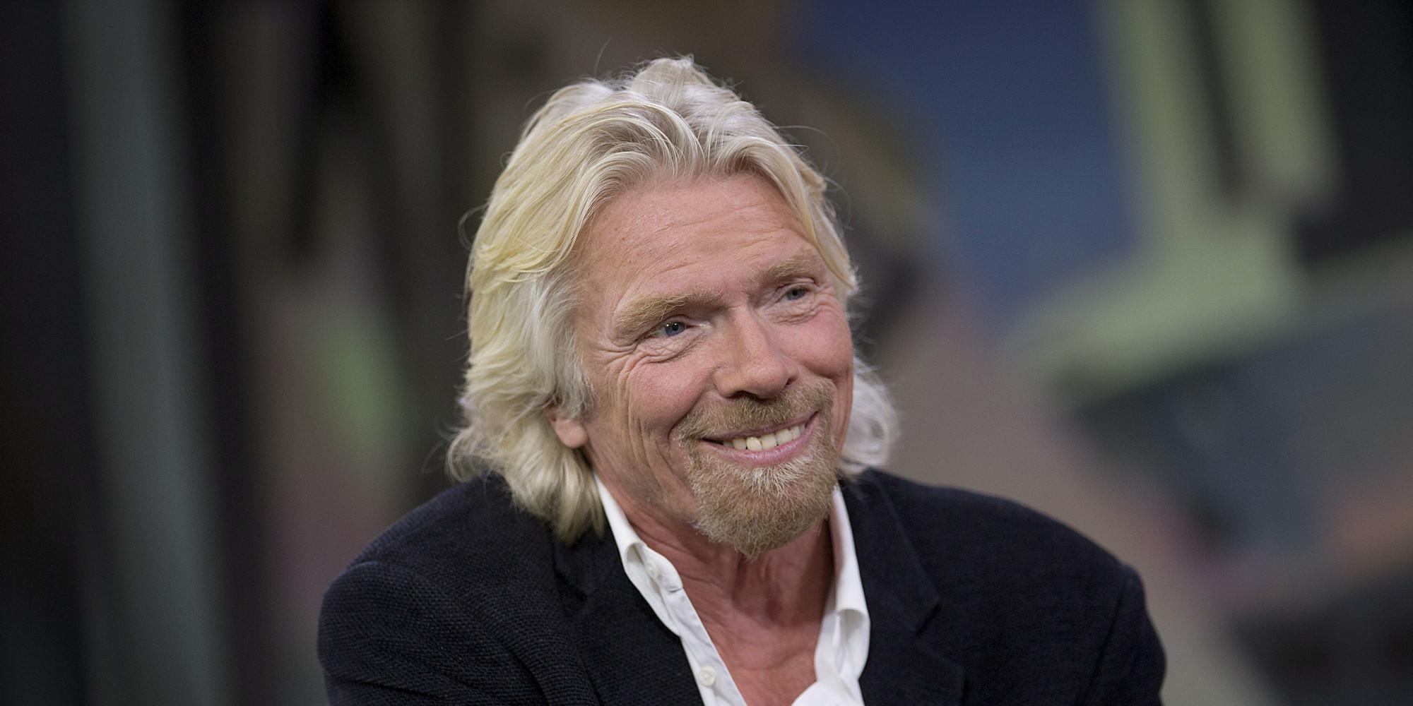 Chairman & Founder Of Virgin Group Ltd. Richard Branson Interview