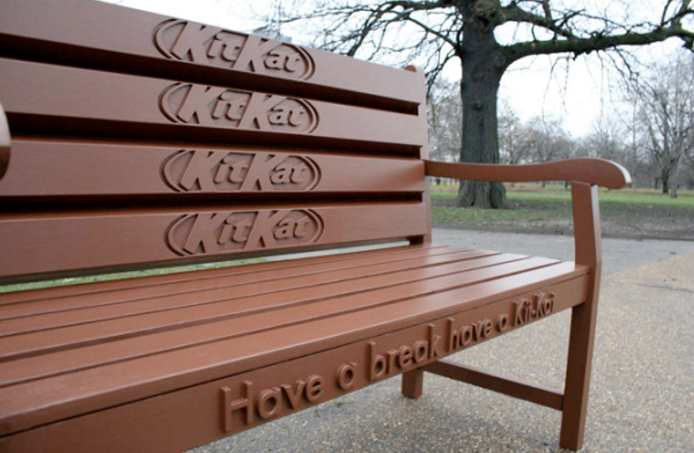 kitkat bench in park