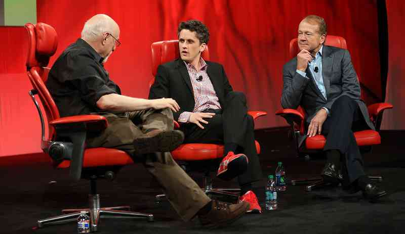 The Red Sneakers of Aaron Levie