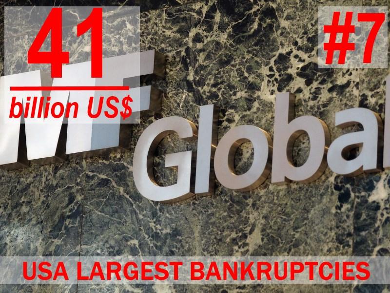 MF Global - USA most egregious bankruptcies - #7