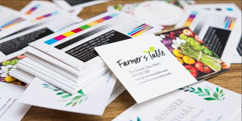 business print cards