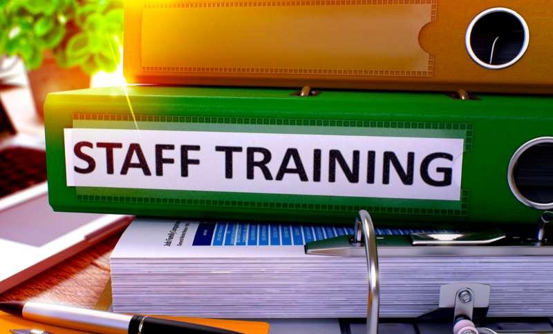 staff training on budget