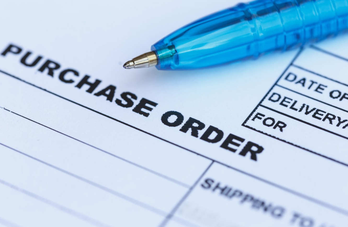 group purchase order