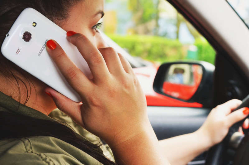 calling while driving