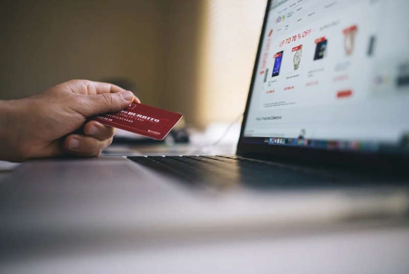 online payment with credit card
