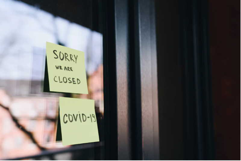 business closed for covid-19