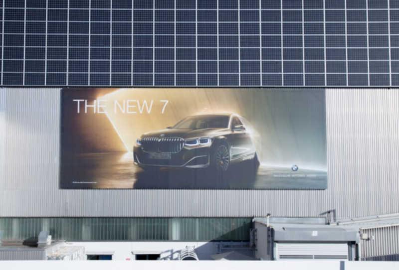 advertisement billboard for car