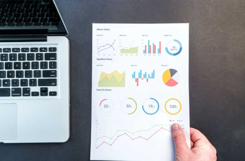business reporting graphics